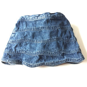 The Children's Place blue denim skirt, Sz. 24 Mo.